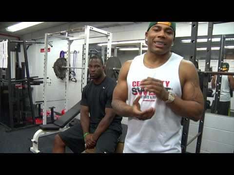 CSweat.com Workout Series (Preview) -- Justin Tuck ft. Nelly