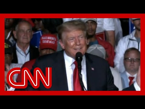 Crowd boos Trump for vaccine stance at Alabama rally