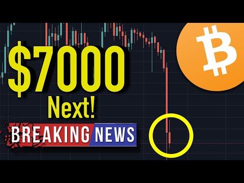 BITCOIN $7000 THIS WEEK? Bitcoin Crash Price Analysis