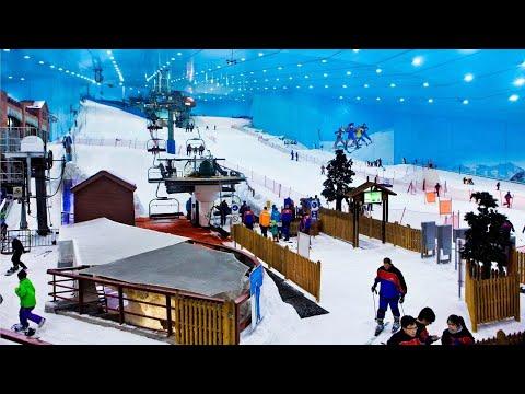 Ski Dubai – BOBSLED l Snow Park in the Desert l Mall of the Emirates