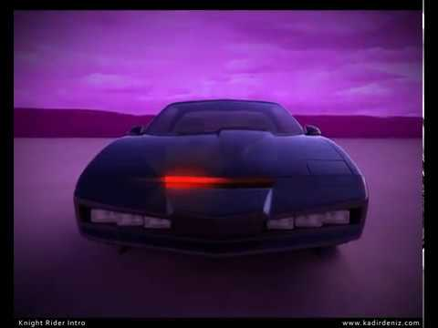 Knight Rider 3d Theme - How it's made?