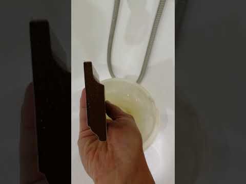 Положили МДФ плинтус в ведро с водой - YouTube