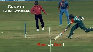 How to score run's in Cricket
