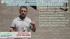 Emergency Roof Repair University Park TX | 972-460-9260 | Hail Damage Inspection Highland Park TX