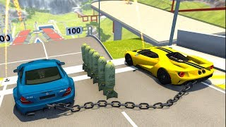 High Speed Jumps&Crashes #29 - BeamNG Drive Crash Testing