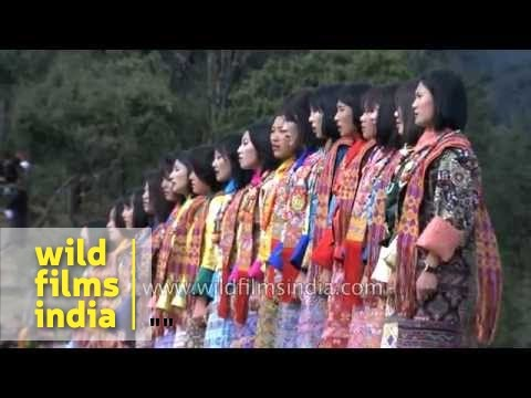 Zhungdra dance performed by Royal Academy of Performing Arts at Druk Wangyel Festival