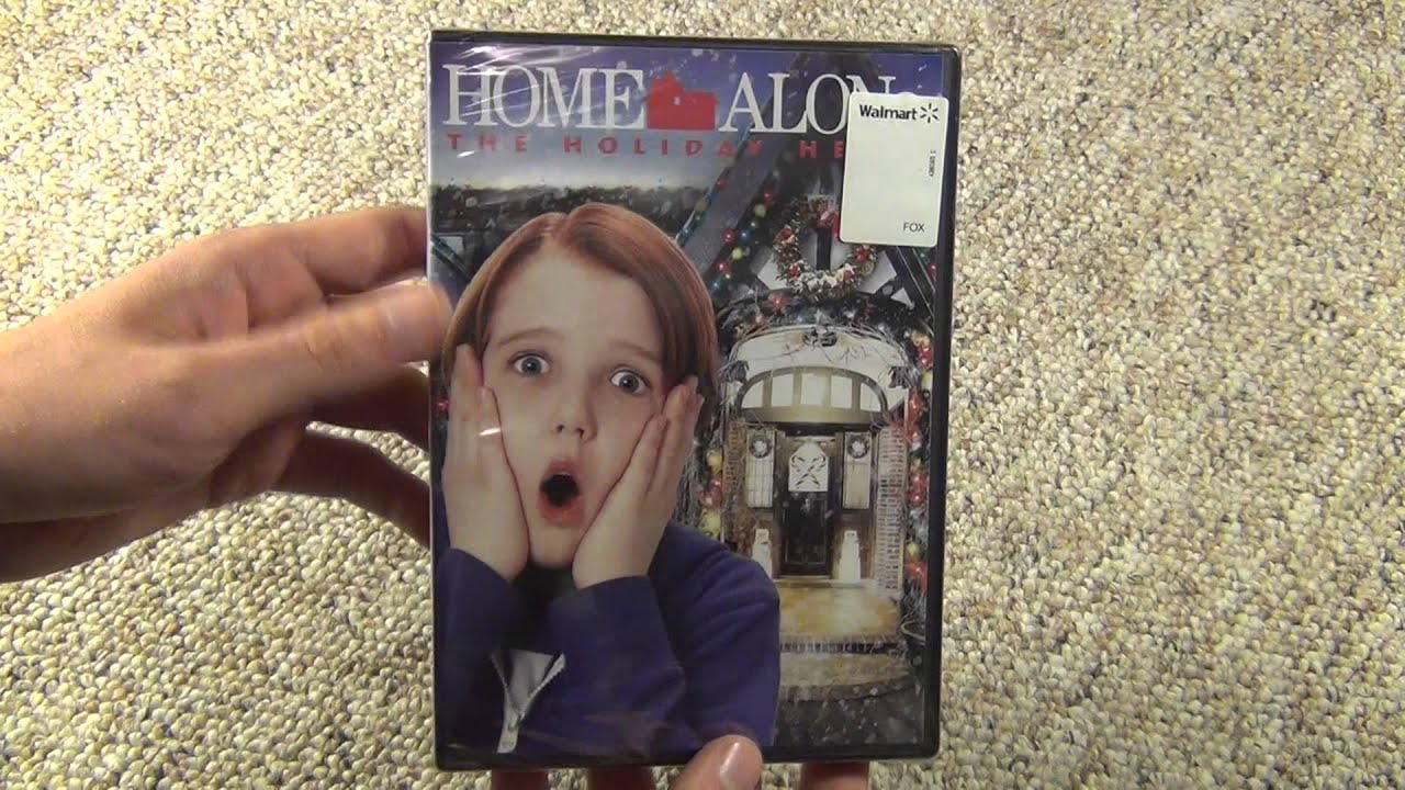 Home Alone 5: The Holiday Heist DVD Unboxing - YouTube