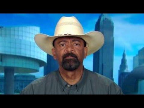Sheriff Clarke on Clinton attacking Trump on race