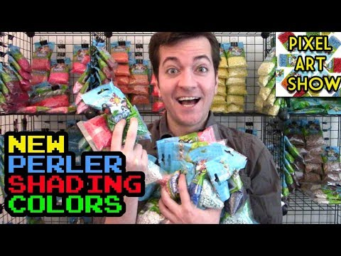 New Perler Shading Colors! - Pixel Art Show
