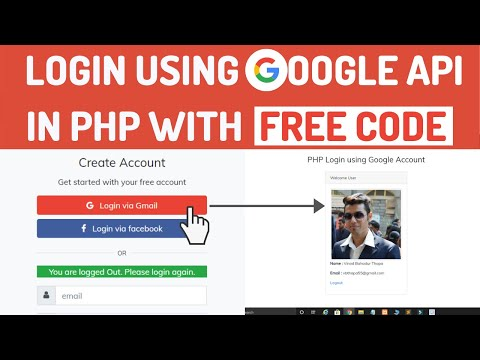 Login With Google Account Using PHP Source Code In 2020