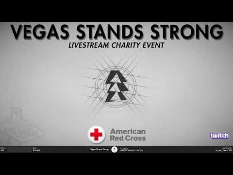 """""""VEGAS STANDS STRONG"""" Charity Livestream hosted by GameWorks Las Vegas!"""