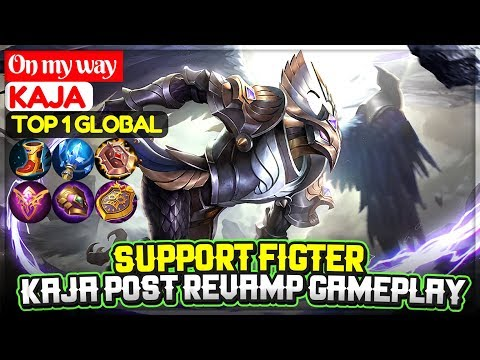 Kaja Post Revamp Gameplay [ Top 1 Global Kaja ] On my way - Mobile Legends