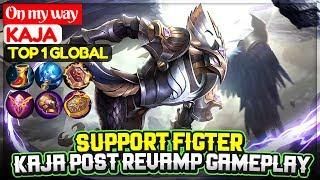 Kaja Post Revamp Gameplay [ Top 1 Global Kaja ] On my way - Mobile Legends