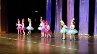 Aaliyha Davies Dance Recital Get Back Up Again