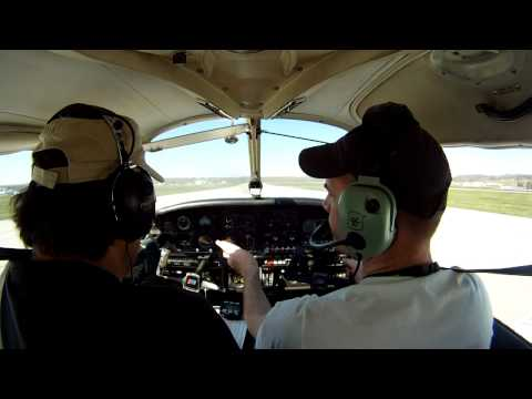 Short Filed Take-Off from Runway 33 at KPOU (Dutchess County Airport)
