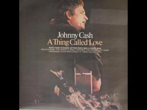 Johnny Cash - A Thing Called Love lyrics