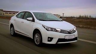 New Toyota Corolla / Тойота Королла 2013 - тест драйв Александра Михельсона