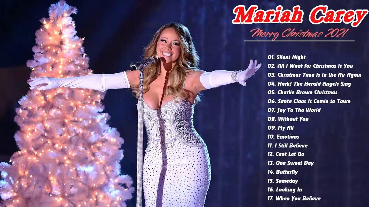 Mariah Carey Christmas Album 2021 Mariah Carey Christmas Full Album 2021 Mariah Carey Christmas Songs Playlist 2021 Youtube