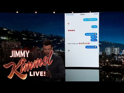 Thumbnail: Jimmy Kimmel Texts His Niece About One Direction Split