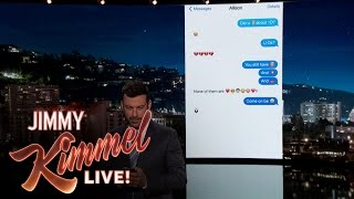 Jimmy Kimmel Texts His Niece About One Direction Split