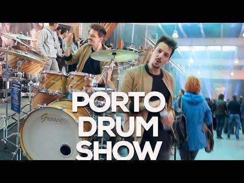 Porto Drum Show Report | Incl. performances: Benny Greb, Kaz Rodriguez & Claus Hessler