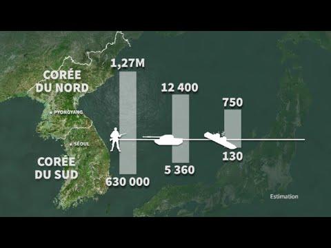 AFP: Les forces militaires dans la péninsule coréenne