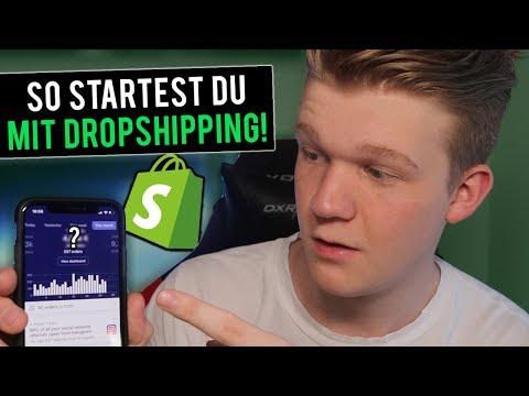 So Startest Du Einen Shopify Dropshipping Store In Unter 20 MINUTEN! [FÜR ANFÄNGER] thumbnail