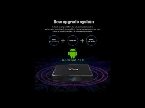 2019 Newest Allwiner H603 Android 9.0 X96H TV BOX Support HDMI Input And HDMI Output