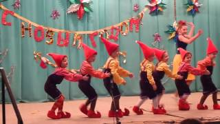 новогодний концерт белоснежка и гномики