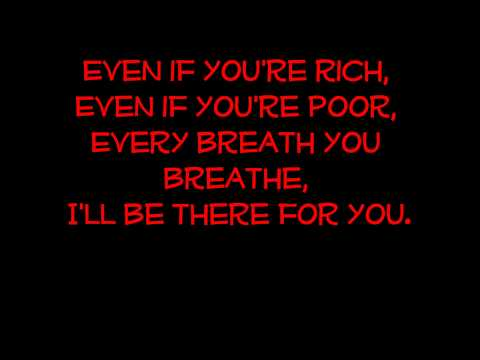 I'll be there - Parlotones with Lyrics