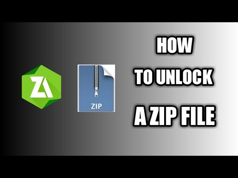 How To Unlock A Zip File On Android