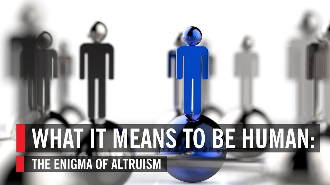 what it means to be human the enigma of altruism what it means to be human the enigma of altruism