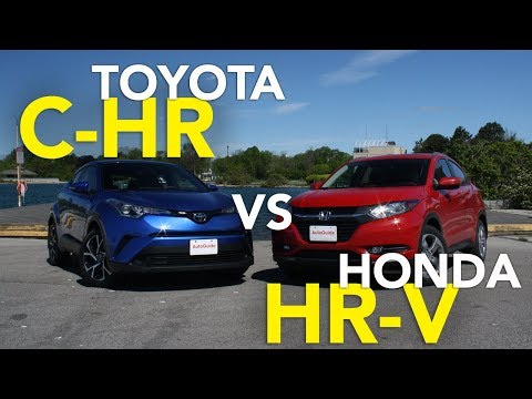 2018 Toyota C-HR vs 2017 Honda HR-V Comparison Test