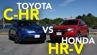 Toyota was really late to the game with a subcompact crossover and ...