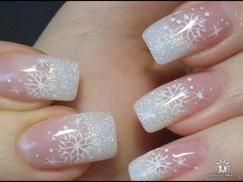 festive Christmas acrylic nail designs - Festive Christmas Acrylic Nail Designs - YouTube