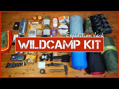 What's In My Pack WILD CAMPING Lake District, UK