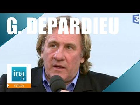 Gérard Dépardieu au Festival de Cannes 2007 | Archive INA