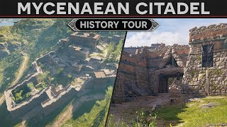 Lets Visit a Mycenaean Citadel - History Tour in AC Odyssey Discovery Mode