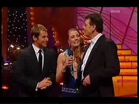 Red Symons on Episode 1 of Dancing with the Stars