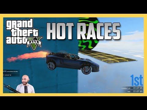 Hot races in GTA V!