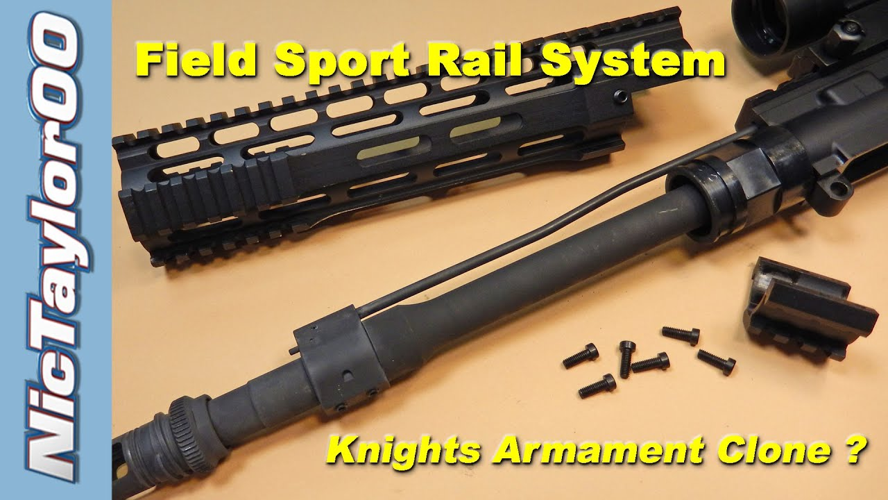 Field Sport Ar15 Handguard Review Install Instructions Very Easy