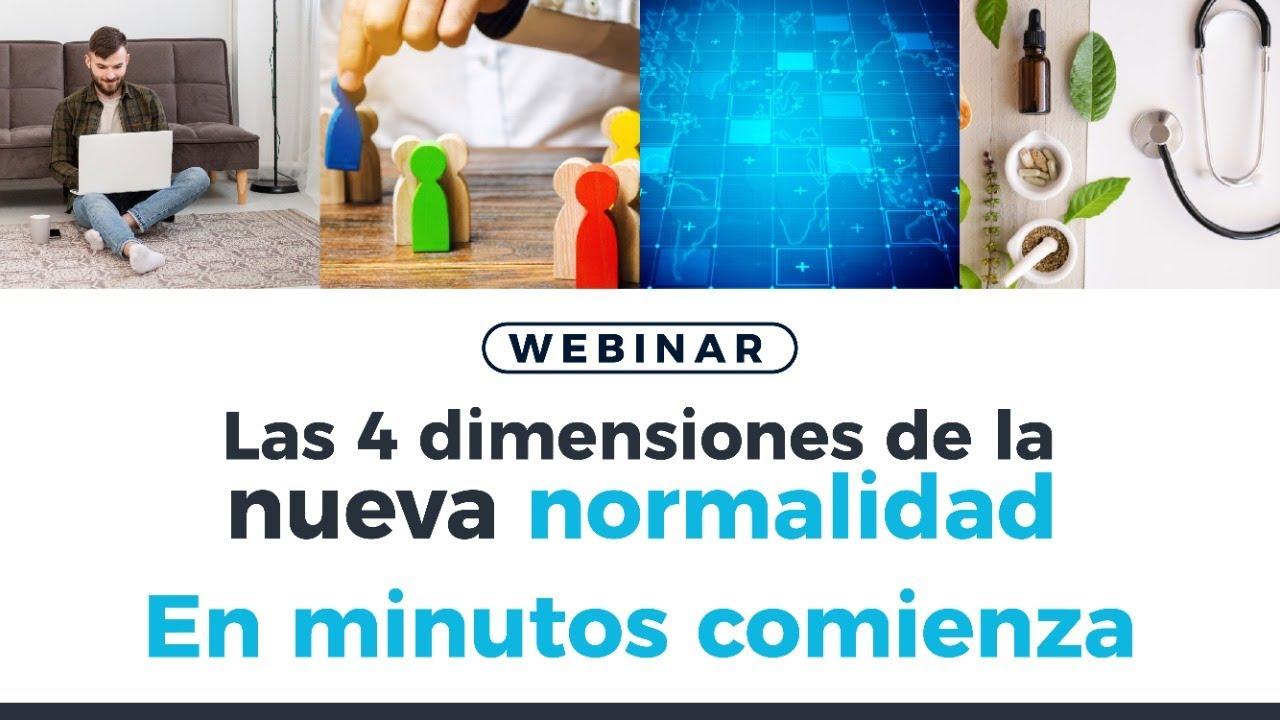 🟢 Las 4 dimensiones de la nueva normalidad | Revista Dinero
