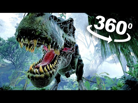 VR Video 360 Jurassic Dinosaur VR 360 degree VR Experience POV for VR BOX 360