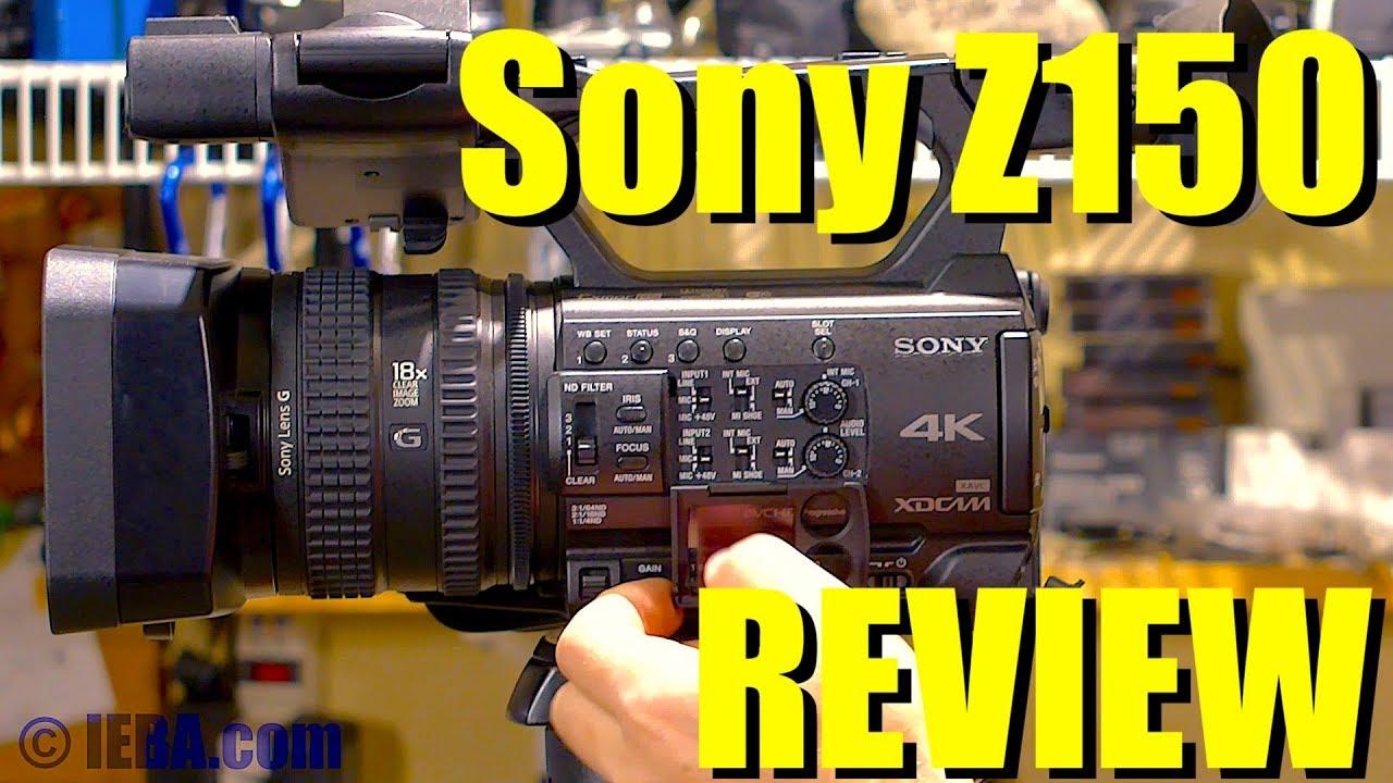 Review: Sony PXW-Z150 4K Camcorder - Streaming Media Producer