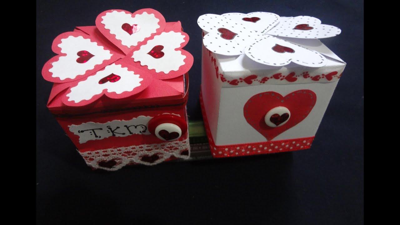 14 Febrero Del Arreglos Para De Caja De Amor En Dia Amistad 14 La Febrero De Madera El Y