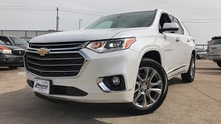 The Redesigned- 2018 Chevrolet Traverse Premier (3.6L V6) - Review