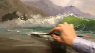 Морской пейзаж Александр Южаков  Мастер Класс по живописи 1
