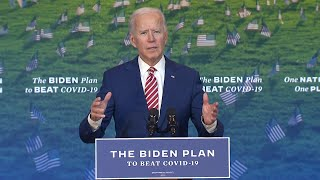 video: Joe Biden's policies: the president-elect's views on Covid-19, immigration and the environment