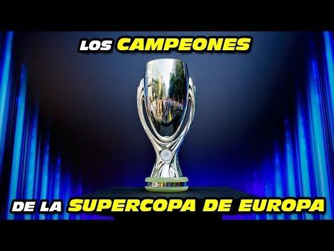 CAMPEONES De La SUPERCOPA DE EUROPA 🏆 (Desde 1998 A 2018)