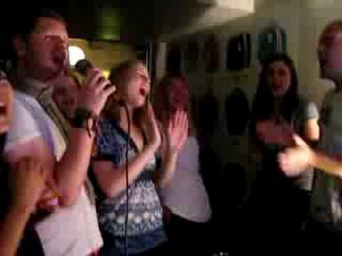 Karaoke At Bloomsbury Lanes, London